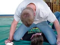FRANKIE'S NIGHTMARE  Wrestling-Fight