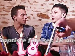 Baptiste celebrates 18th Birthday