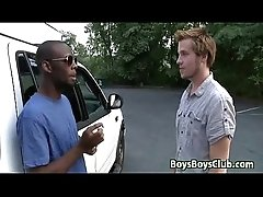 White Gay Dude Has Some Manly Fun With A Black Guy 24