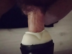 Twink gay small cock with cum in fleshlight