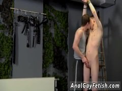 Gay hairless twinks bondage and outdoor sex