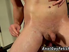 Gay twink bondage and free videos He's bare