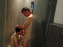 Our Vacation Shower Sex Tape