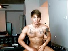 Super Sexy Handsome Bi Boy Cums On Cam