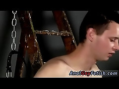 Teen twink boys bondage and rope gay porn Splashed With Wax And Cum