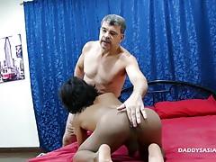 Daddy Barebacks Asian Twink Russel