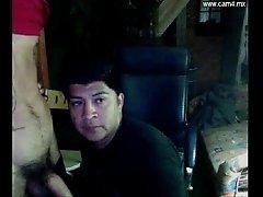 Chacal boxeador mexicano se lleva una mamada - mexican boxer blowjob