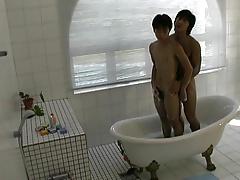 Asia Pool Boy's Have Fun