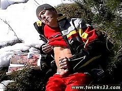 Cute interracial gay twinks jesse Roma Smokes In The Snow