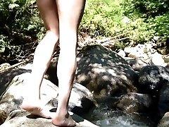 Naked swim