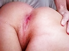 Fucking my ass in the morning