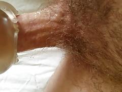 Two amateur close up POV male masturbation scenes