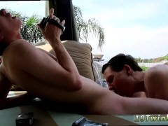 Twink seduces uncle for raw gay sex