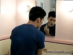 Sexy white gay porn movie galleries Jeremiah walks in on Dominic in