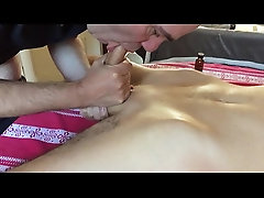 Men From Cokto : Huge Straight Twink Tied And Milked
