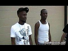 BlacksOnBoys -Gay Interracial Bareback Fuck Scene 01